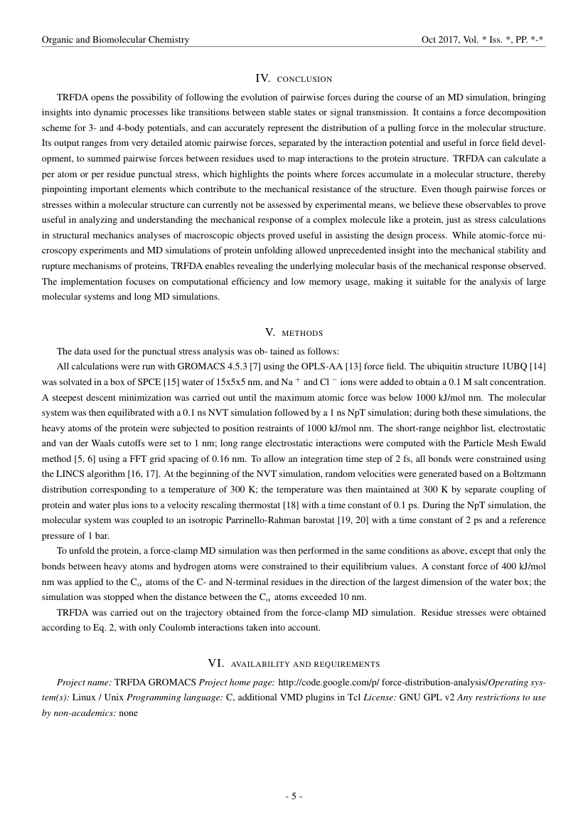 Example of Journal of Medical Research and Development format