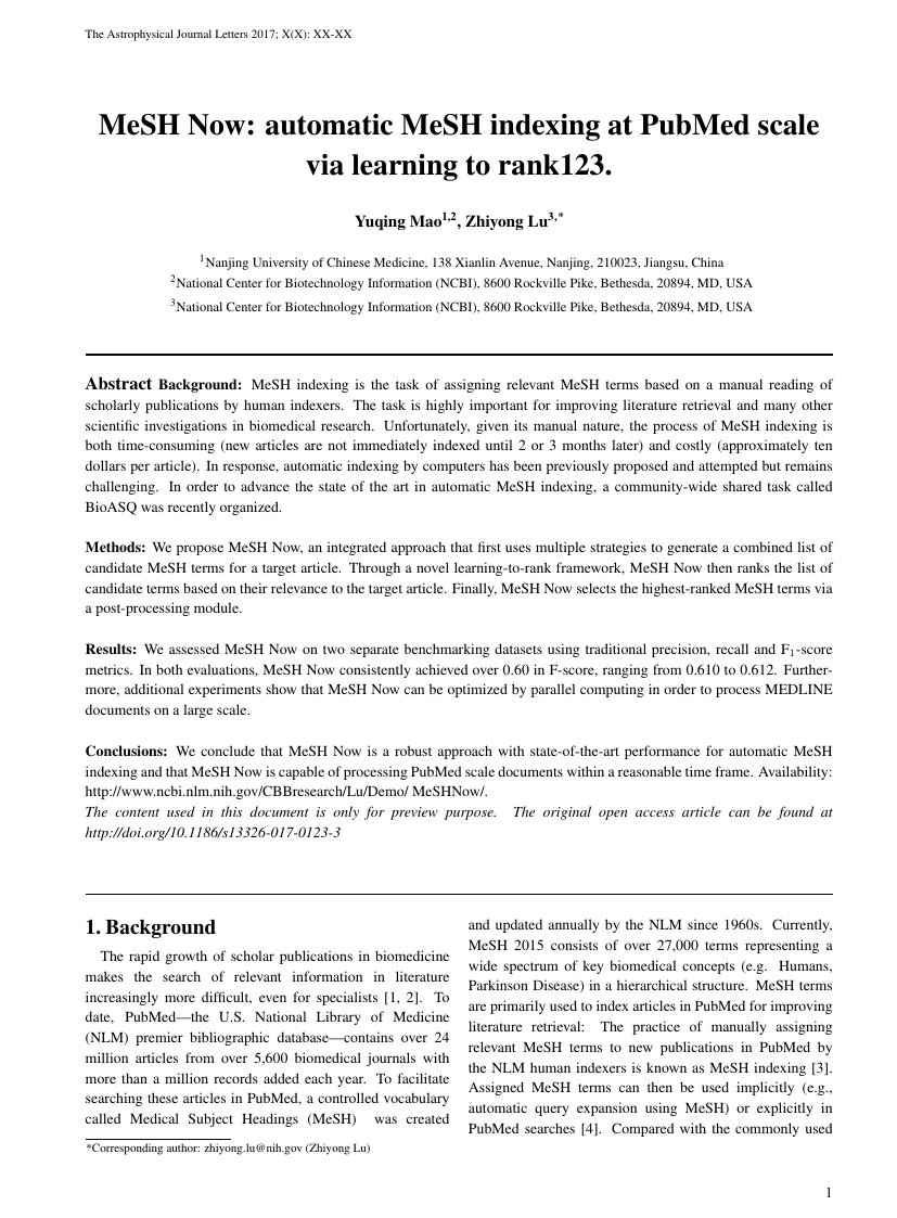 Scientific & Academic Publishing - Modern International