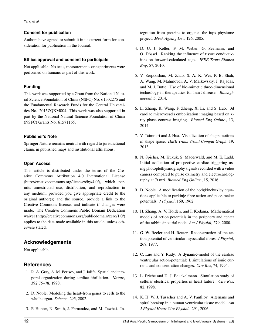 Example of The Saint's International Dental Journal  format