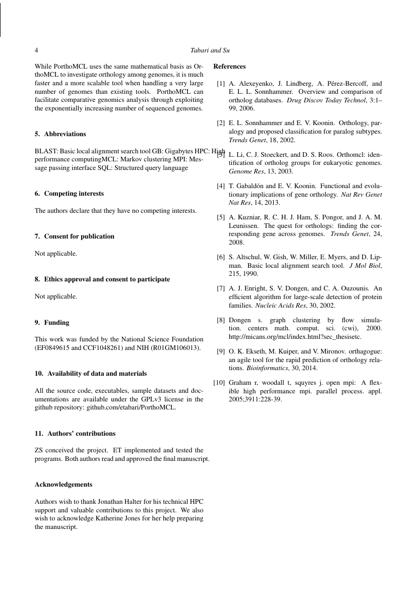 Example of Journal of Biosciences format