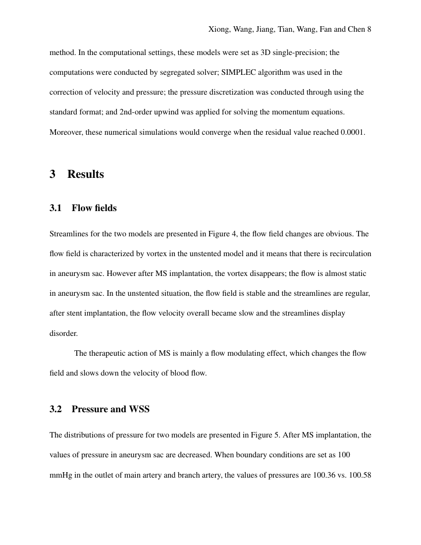 Example of Master of Heritage Conservation (Assignment/Report) format