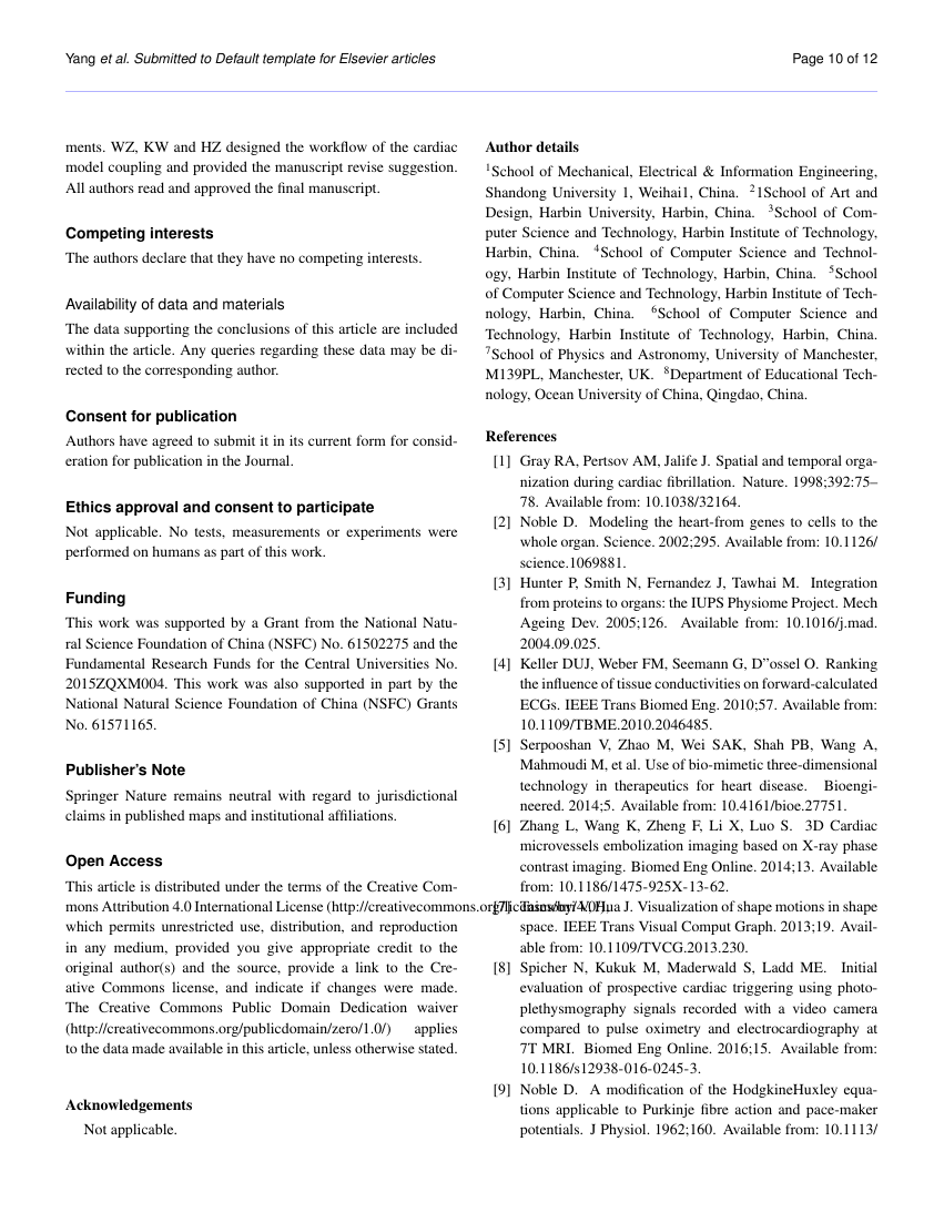 Example of Journal of Analytical Techniques format