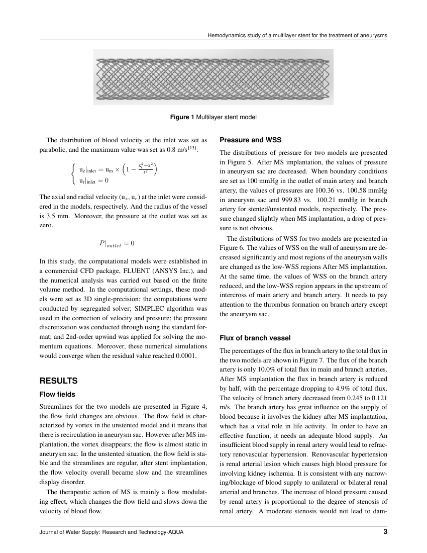 Example of Indian Journal of Dentistry  format
