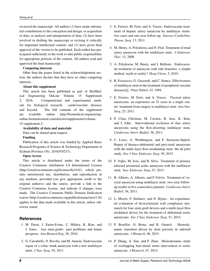 Example of Egyptian Retina Journal  format