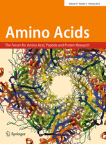 Amino Acids template (Springer)
