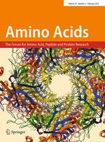 Amino Acids template (Springer)