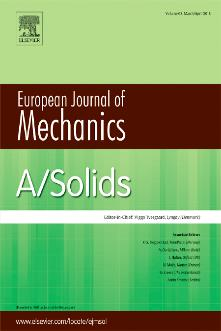 European Journal of Mechanics - A/Solids template (Elsevier)