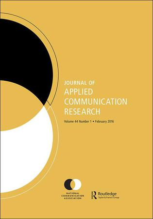 Journal of Applied Communication Research template (Taylor and Francis)