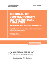 Journal of Contemporary Mathematical Analysis (Armenian Academy of Sciences) template (Springer)