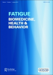 Fatigue: Biomedicine, Health and Behavior template ( Health and Behavior)
