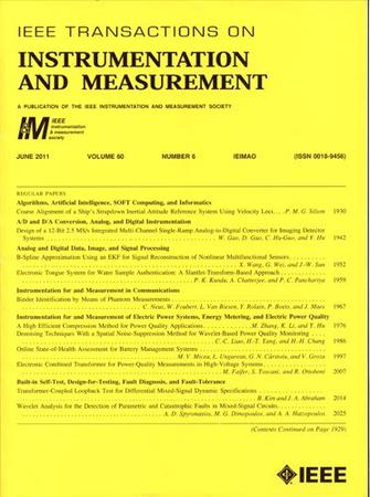 IEEE Transactions on Instrumentation and Measurement template (IEEE)