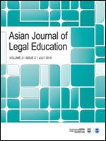 Asian Journal of Legal Education template (SAGE)
