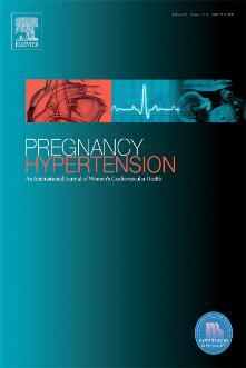 Pregnancy Hypertension: An International Journal of Women's Cardiovascular Health template (Elsevier)