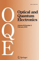 Optical and Quantum Electronics template (Springer)
