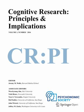 Cognitive Research: Principles and Implications template (Springer)