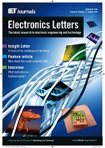 Electronics Letters template (IET Publications)