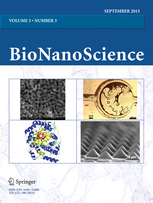 BioNanoScience template (Springer)