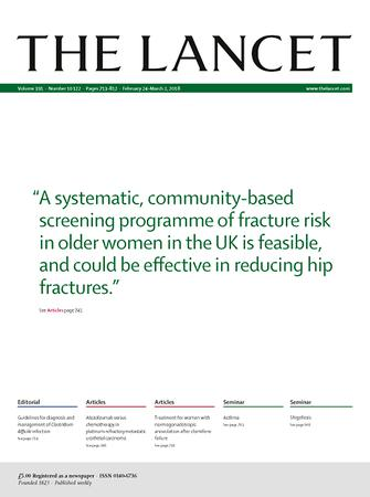 The Lancet template (Elsevier)