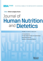 Journal of Human Nutrition and Dietetics template (Wiley)