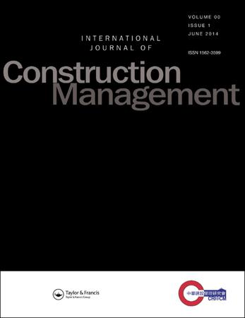 International Journal of Construction Management template (Taylor and Francis)