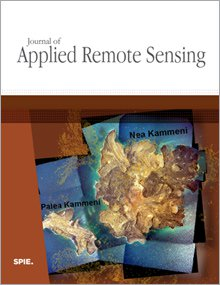 Journal of Applied Remote Sensing template (SPIE)