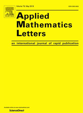 Applied Mathematics Letters template (Elsevier)