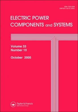 Electric Power Components and Systems template (Taylor and Francis)