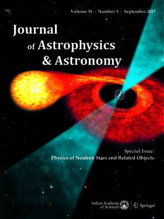 Journal of Astrophysics and Astronomy template (Indian Academy of Sciences)