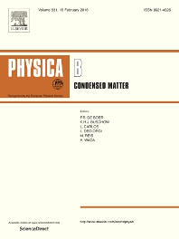 Physica B: Condensed Matter template (Elsevier)