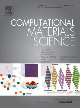 Computational Materials Science template (Elsevier)