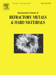 International Journal of Refractory Metals and Hard Materials template (Elsevier)
