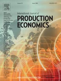 International Journal of Production Economics template (Elsevier)