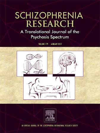 Schizophrenia Research template (Elsevier)