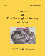 Journal of the Geological Society of India template (Springer)