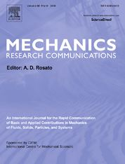 Mechanics Research Communications template (Elsevier)