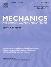 Mechanics Research Communications template (Elsevier)
