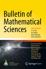 Bulletin of Mathematical Sciences template (Springer)