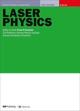 Laser Physics template (IOP Publishing)