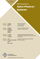 ACM Transactions on Cyber-Physical Systems template (Association for Computing Machinery)