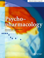 Psychopharmacology template (Springer)