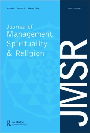 Journal of Management, Spirituality and Religion template ( Spirituality and Religion)
