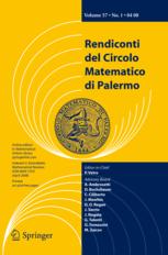Rendiconti del Circolo Matematico di Palermo Series 2 template (Springer)
