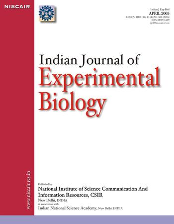 Indian Journal of Experimental Biology (IJEB) template (NISCAIR Publications)
