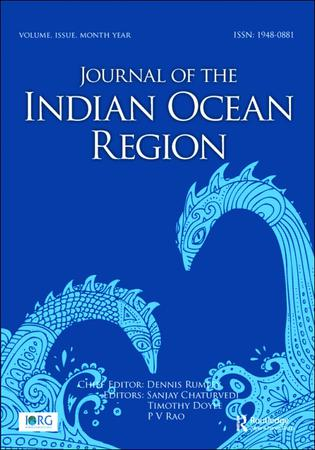Journal of the Indian Ocean Region template (Taylor and Francis)