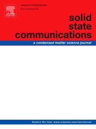 Solid State Communications template (Elsevier)