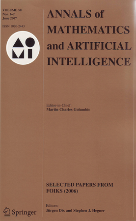 Annals of Mathematics and Artificial Intelligence template (Springer)