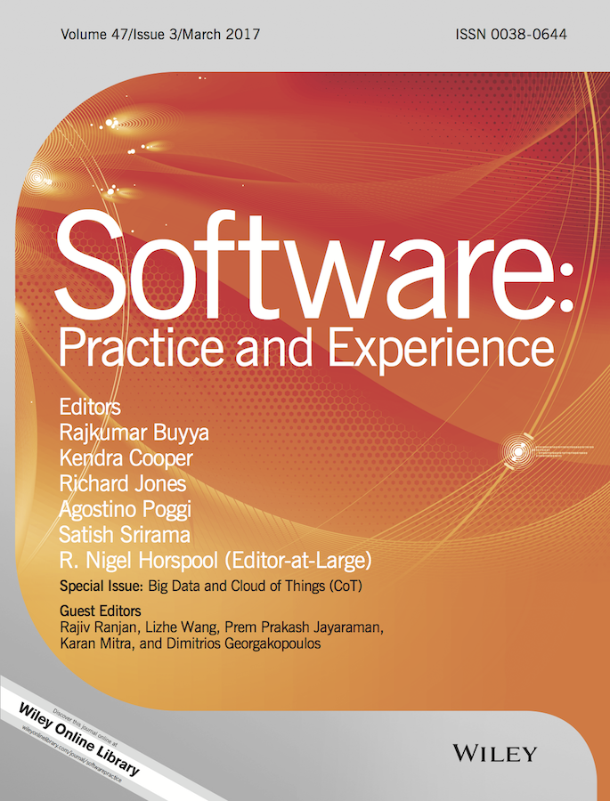 Software: Practice and Experience template (Wiley)
