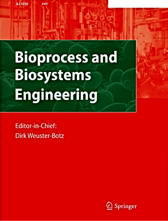 Bioprocess and Biosystems Engineering template (Springer)
