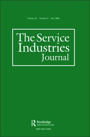 The Service Industries Journal template (Taylor and Francis)