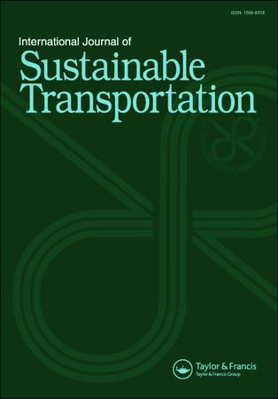 International Journal of Sustainable Transportation template (Taylor and Francis)